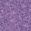 Royalty-Free Stock Vector Image: Lace grape vines seamless pattern background