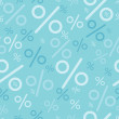 Percentage signs seamless pattern backgrounds — Stock Vector