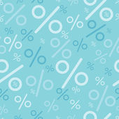 Percentage signs seamless pattern backgrounds — Vector de stock