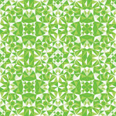 Green triangle texture seamless pattern background — Stock Vector