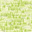 Painting of green grass seamless pattern background — Stok Vektör