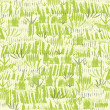 Painting of green grass seamless pattern background — Stock Vector