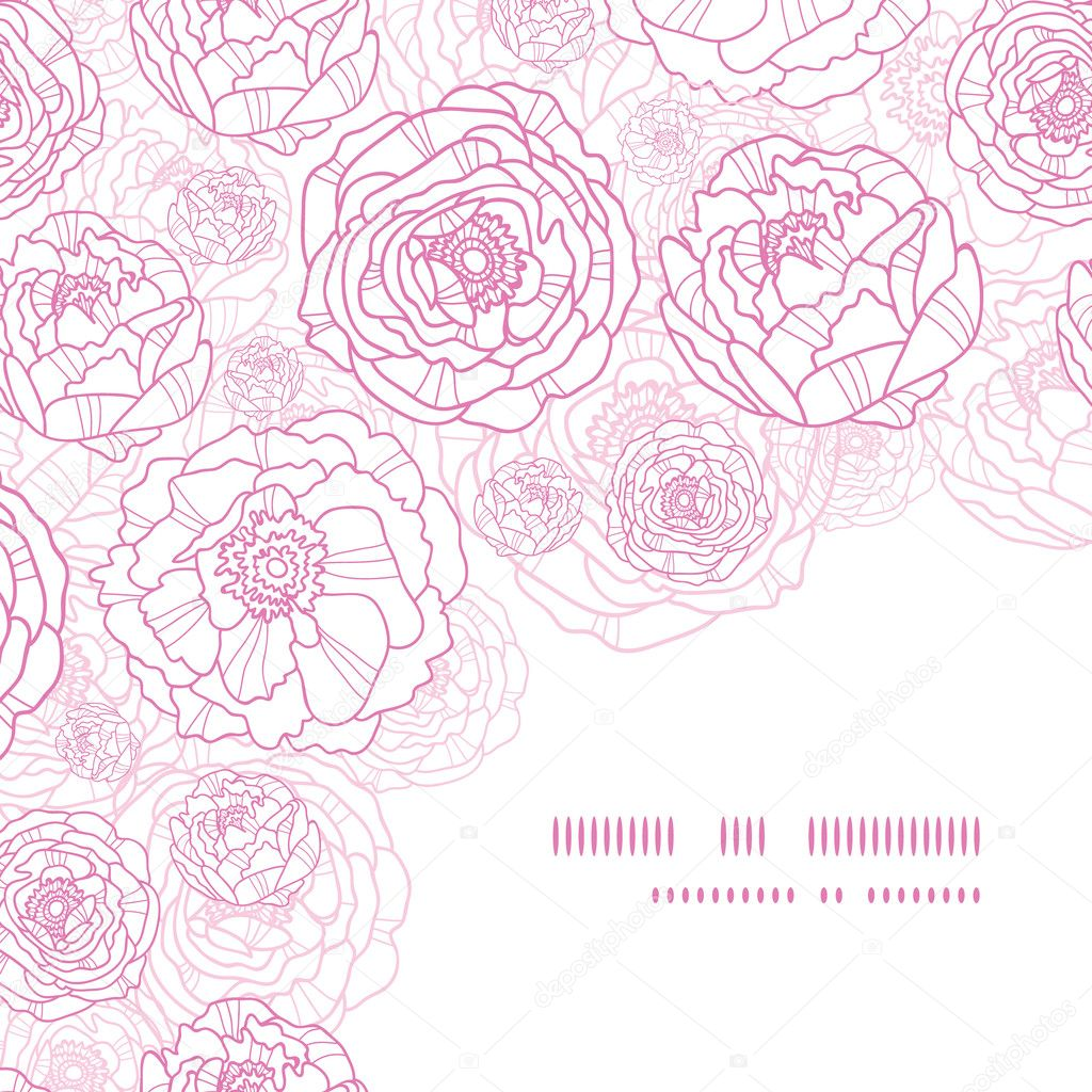 Pink Flower Line Drawing : Images about colouring projects on pinterest dover