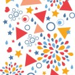 Abstract celebration vertical seamless pattern background — Stock Vector #24995209