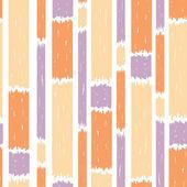 Blauwe verf verticale strepen naadloze patroon achtergrond — Stockvector