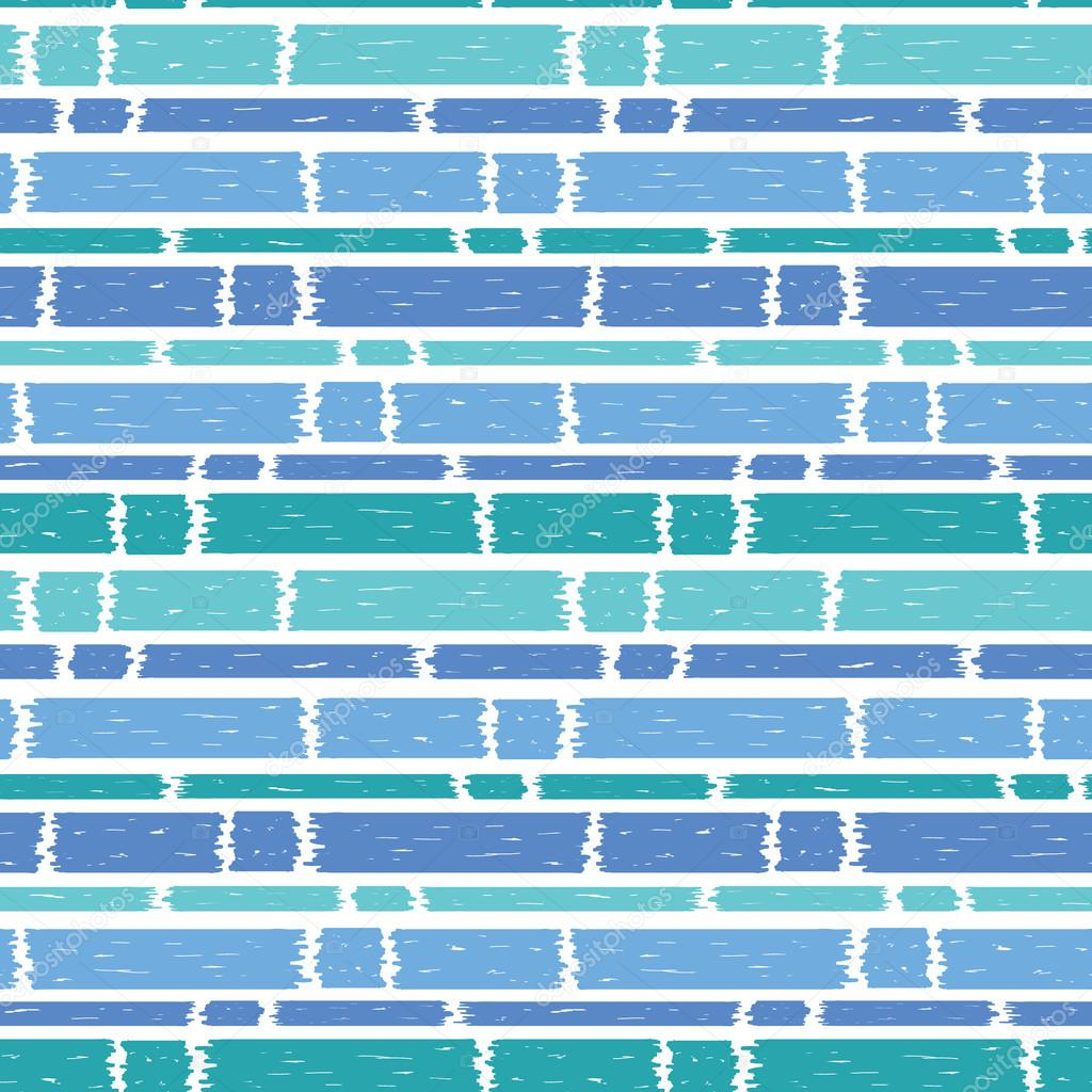 blue paint horizontal stripes seamless pattern background