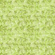 Stock Vector: Green grass texture seamless pattern background