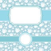 Set of frames on shiny diamonds seamless pattern background — Stock Vector