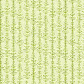 Underwater Plants Stripes Seamless Pattern Background — Stock Vector