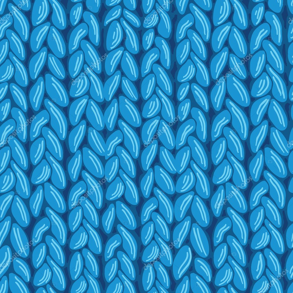 Knit sewater fabric seamless pattern texture — Stock ...