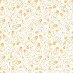 Light bulbs line art seamless pattern background — Stock Vector #31969725