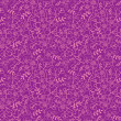 Purple florals seamless pattern background — Stock Vector