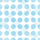 Abstract textile blue polka dots stripes seamless pattern background — Stock Vector