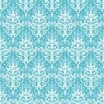 Light blue swirls damask seamless pattern background — Stock Vector #45998885
