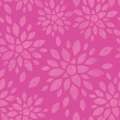 Abstract textile flowers pink seamless pattern background — Vettoriale Stock