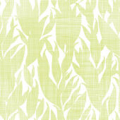 Green leaves textile texture seamless pattern background — Stock Vector