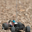 Remote control electric truck with out a body — Stock Photo #14706347
