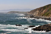 Rocky northern California coast — Stock Photo