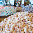 Assortment of salt water taffy candy - Stock Photo