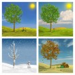 ������, ������: The four seasons
