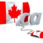 Canada online — Stock Photo