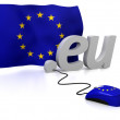 European Union online - Stock Photo