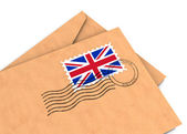 British post — Stock Photo