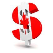 Canadian dollar — Stock Photo