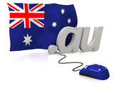 Australia online — Stock Photo