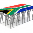 Royalty-Free Stock Photo: South African Pride