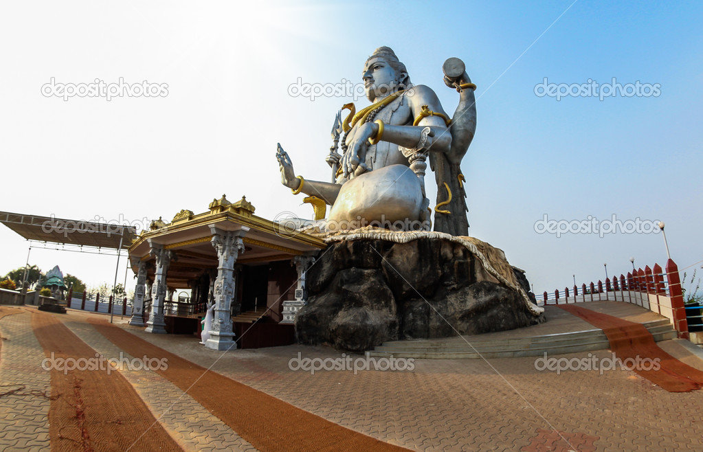 Indian Gods Shiva Statue of Hindu God Shiva