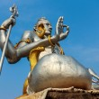 Stock Photo: Statue of Hindu God Shiva, India, 2012