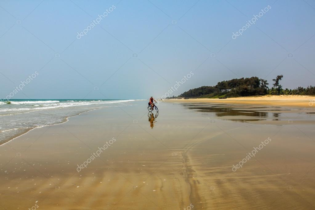 Beach in Goa, India, 2011  Stock Photo #14832285