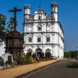 Stock Photo: Church in North Goa