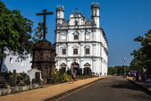 Church in North Goa — Stock Photo