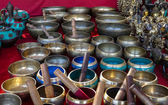 Singing Bowls — Stockfoto