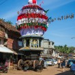 Stock Photo: Chariot in Gokarna
