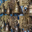 Stock Photo: Bells in market place