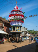 Chariot in Gokarna — Stock Photo