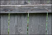 Grey fence — Stock Photo