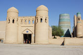 Khiva, Silk Road, Uzbekistan — Stock Photo