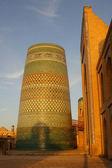 Minaret Kalta Minor, Khiva, Uzbekistan — Stock Photo