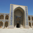 Madrassa Ulugh Beg, Bukhara, Uzbekistan — Stock Photo
