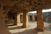 Tombs of the kings, ancient roman city, Paphos, Cyprus, Europe — Stock Photo