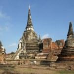 Wat phra si sanphet, ayutthaya, Tailandia — Foto de Stock   #14940423
