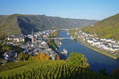 Cochem, Moselle River, Germany, Europe — Stock Photo