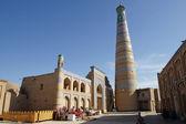 Mosque Islom Xoja, Khiva, Uzbekistan — Stock Photo