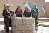 Old Usbek women, Khiva, Uzbekistan — Stock Photo