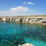 Sea Caves, Cyprus, Europe — Stock Photo #33668025