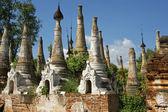 Indein, Inle Lake, Myanmar — Stock Photo